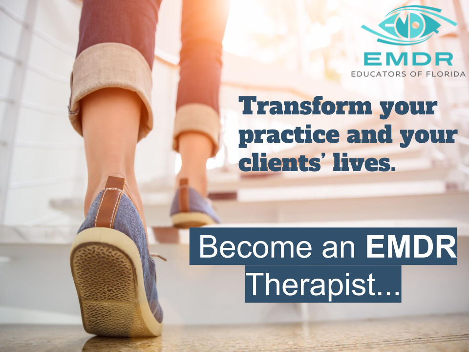 Become a therapist with training in EMDR